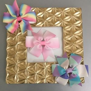 Other - 3/$15 baby girl toddler kids bow hair clips